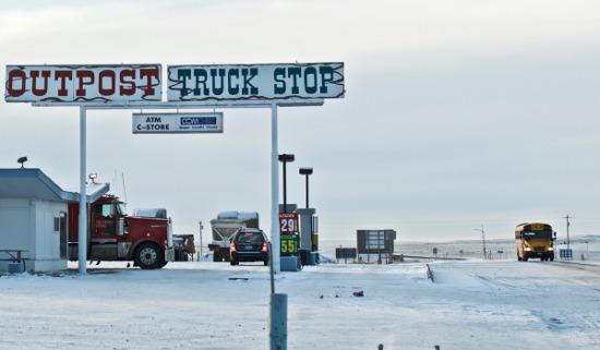 Closer truck stop